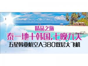 国际旅行社-泰国+韩国精品九日游